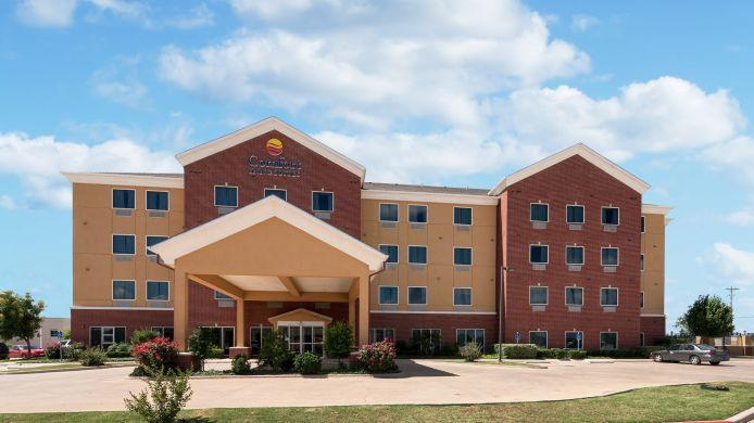 Buitenaanzicht Comfort Inn & Suites Regional Medical Center