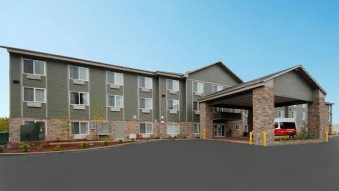 Exterior view Comfort Suites Anchorage International Airport