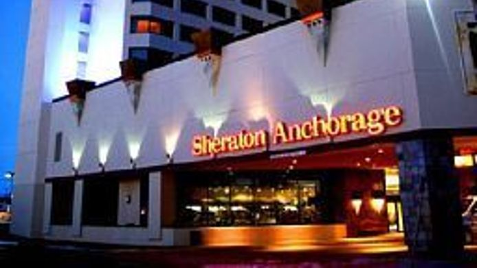 Buitenaanzicht Sheraton Anchorage Hotel & Spa
