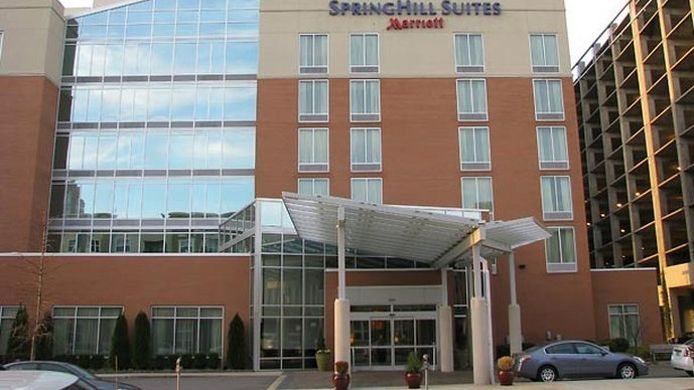 Exterior view SpringHill Suites Birmingham Downtown at UAB