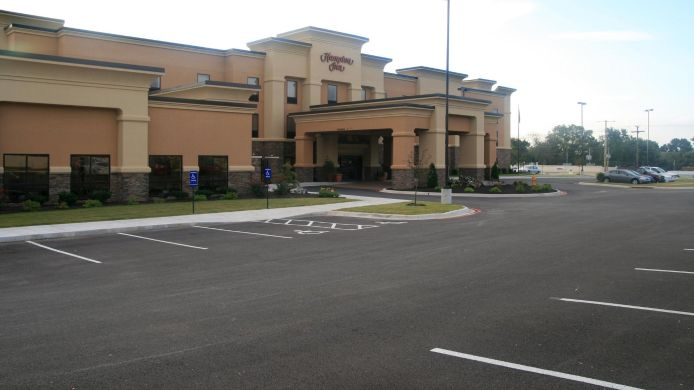 Exterior view Hampton Inn Harrison