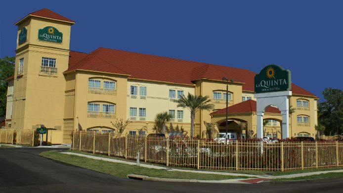 Exterior view LA QUINTA INN STE HOUSTON  E NORMANDY