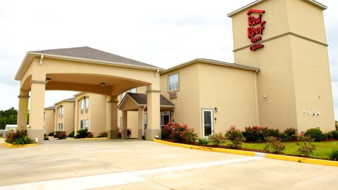 Exterior view LAKE CHARLES RED ROOF INN