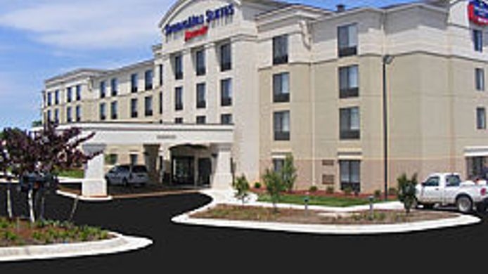 Exterior view SpringHill Suites Lynchburg