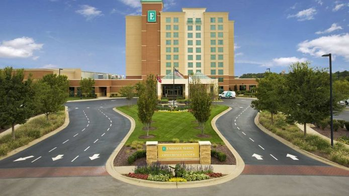 Exterior view Embassy Suites by Hilton Nashville SE Murfreesboro