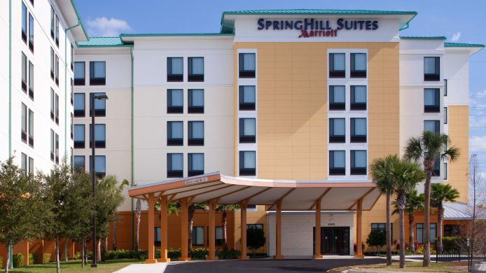 Exterior view SpringHill Suites Orlando at SeaWorld®