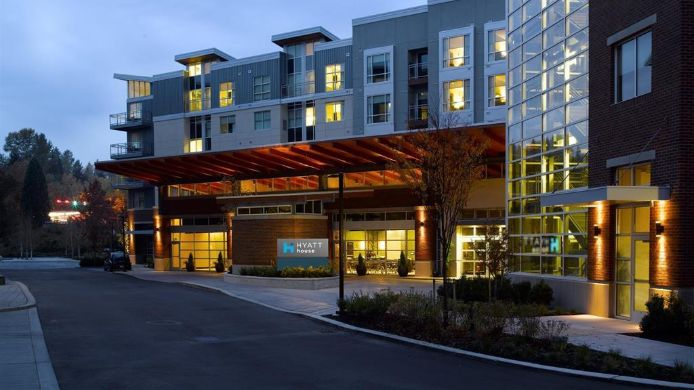 Exterior view HYATT house Redmond