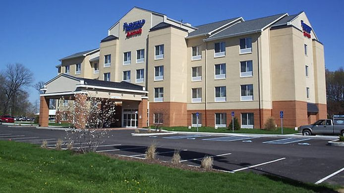 Exterior view Fairfield Inn & Suites Seymour
