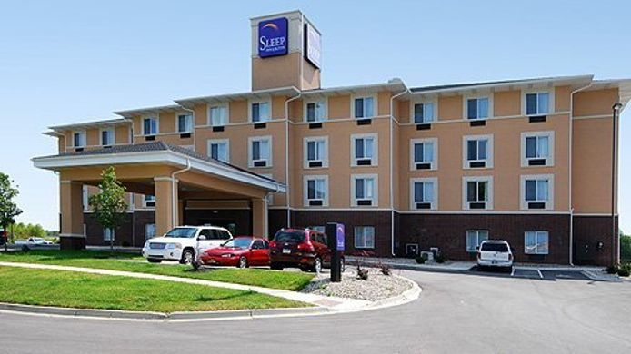 Buitenaanzicht Sleep Inn & Suites Shepherdsville