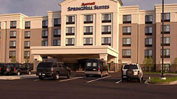 Exterior view SpringHill Suites Wheeling