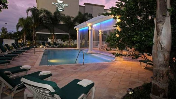 Buitenaanzicht Homewood Suites by Hilton Tampa-Port Richey