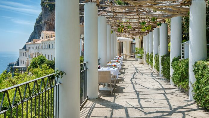 Terras NH Collection Grand Hotel Convento di Amalfi