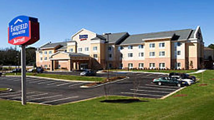 Buitenaanzicht Fairfield Inn & Suites Albany