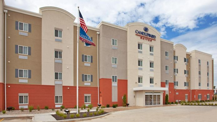 Buitenaanzicht Candlewood Suites KANSAS CITY NORTHEAST