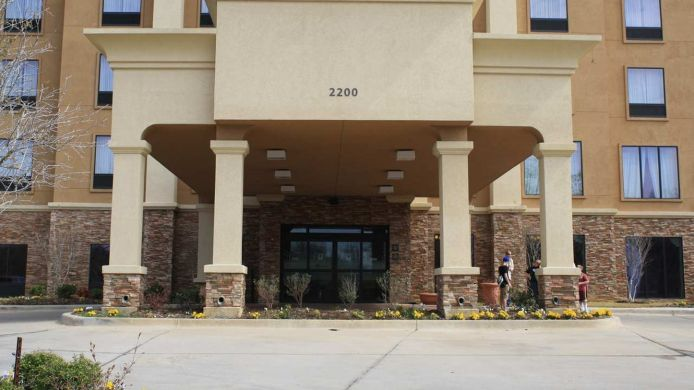 Buitenaanzicht Hampton Inn - Suites Dallas-Arlington Nrth-Entertainmnt Dist