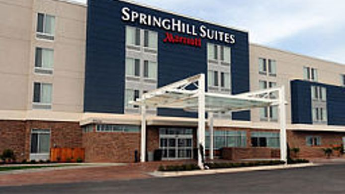 Exterior view SpringHill Suites San Angelo