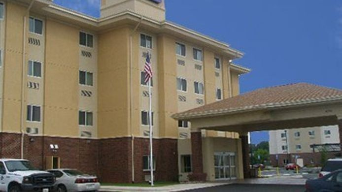 Buitenaanzicht Sleep Inn & Suites Huntsville