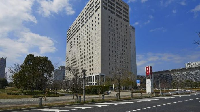 Buitenaanzicht Oakwood Hotel & Apartments Ariake