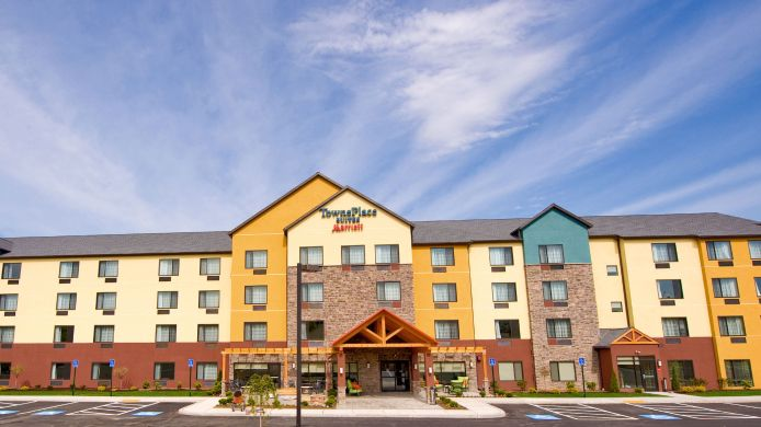 Exterior view TownePlace Suites Scranton Wilkes-Barre
