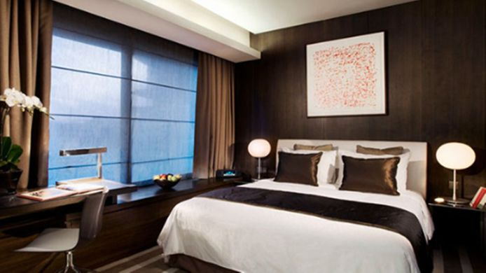 Double room (standard) Pan Pacific Serviced Suites Orchard