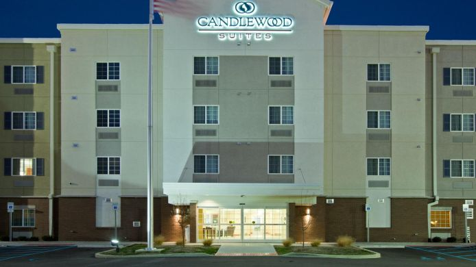 Exterior view Candlewood Suites INDIANAPOLIS EAST