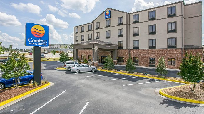 Exterior view Comfort Inn & Suites Near Fort Gordon