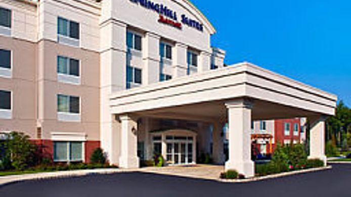 Exterior view SpringHill Suites Long Island Brookhaven