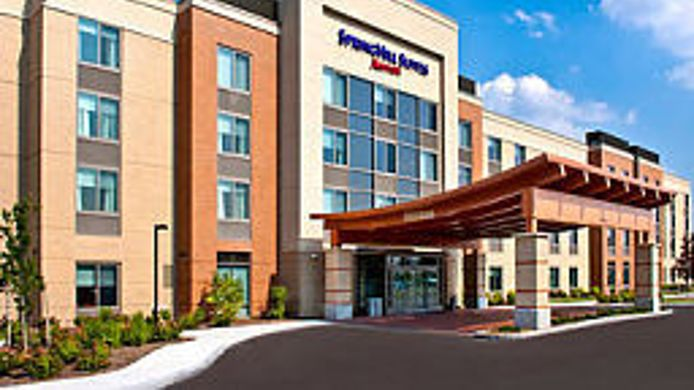 Exterior view SpringHill Suites Syracuse Carrier Circle