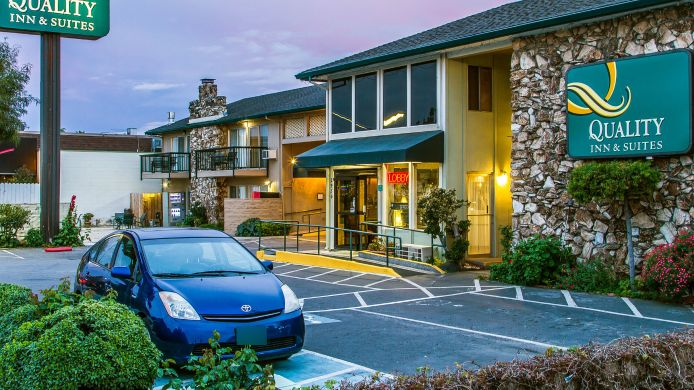 Exterior view Quality Inn & Suites Silicon Valley