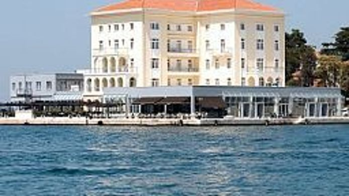 Exterior view Grand Hotel Palazzo