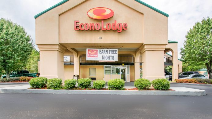 Exterior view Econo Lodge Troy