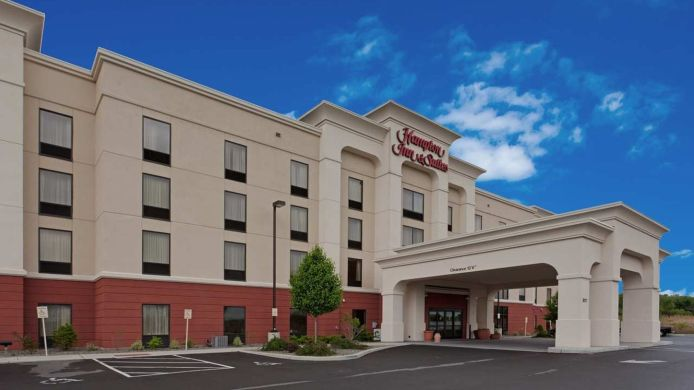 Buitenaanzicht Hampton Inn - Suites Syracuse Erie Blvd-I-690