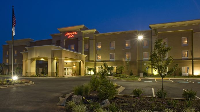 Buitenaanzicht Hampton Inn Anderson-Alliance Business Park SC