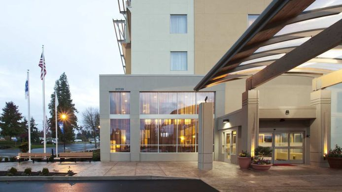 Buitenaanzicht Hampton Inn - Suites Seattle-Federal Way