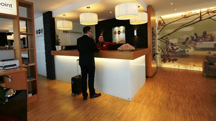 Receptie Zeitwohnhaus Suite Hotel & Serviced Apartments Superior