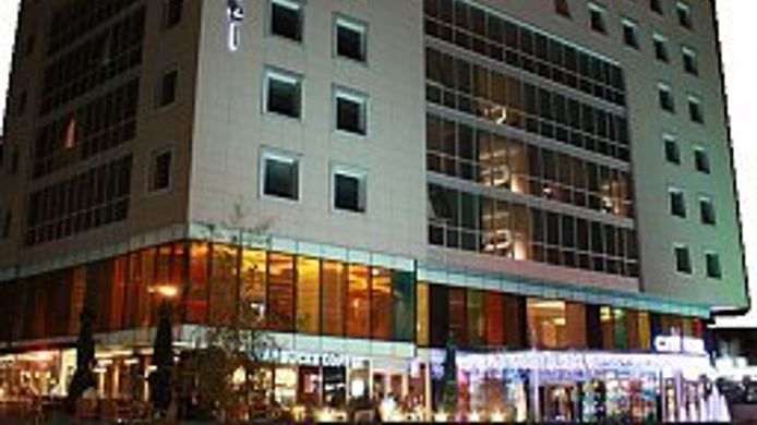 Exterior view City Hotel Turan Günes