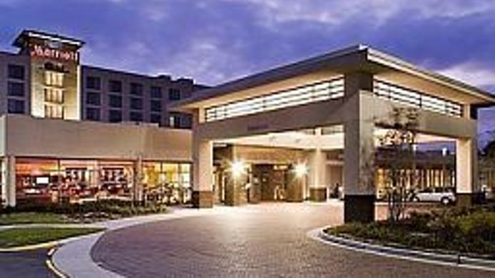 Buitenaanzicht Marriott Chesapeake