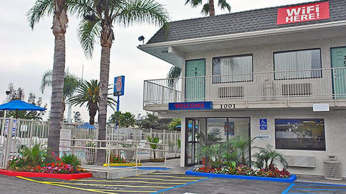 Exterior view MOTEL 6 LOS ANGELES - ROSEMEAD
