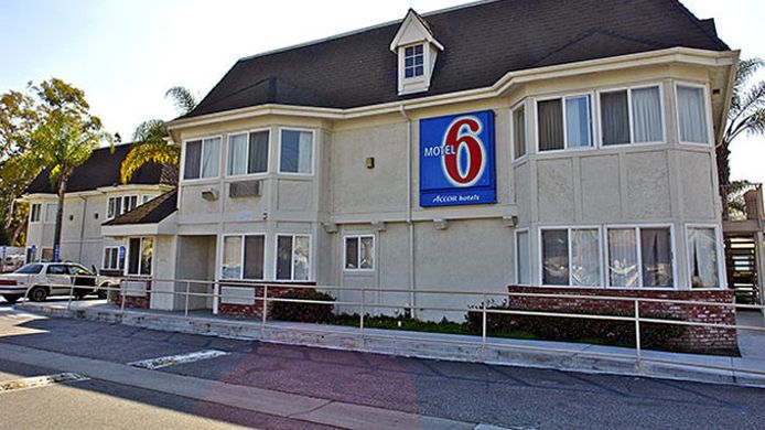 Exterior view MOTEL 6 WESTMINSTER NORTH