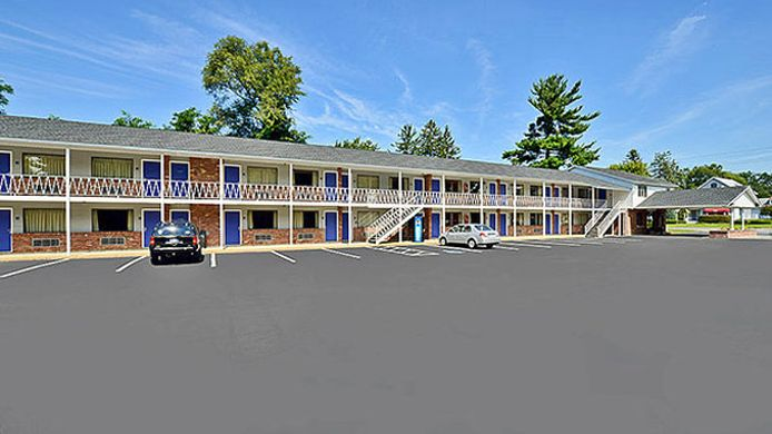 Exterior view MOTEL 6 ALBANY AIRPORT