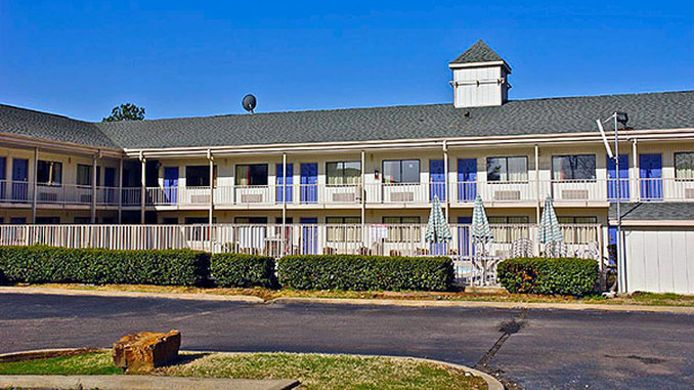 Exterior view MOTEL 6 LITTLE ROCK NORTH