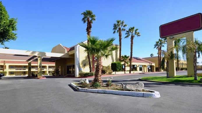 Exterior view Quality Inn & Suites Indio I-10