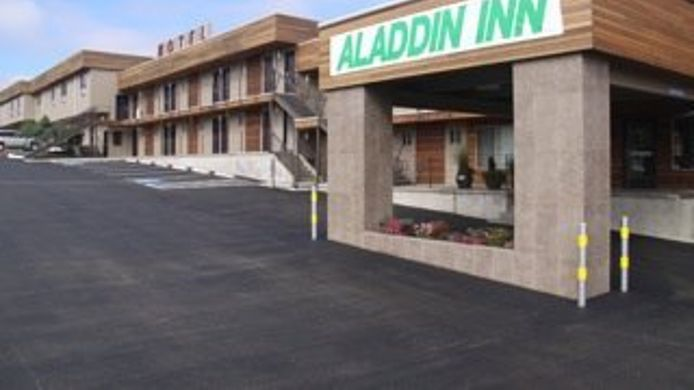 Exterior view ALADDIN INN AND SUI