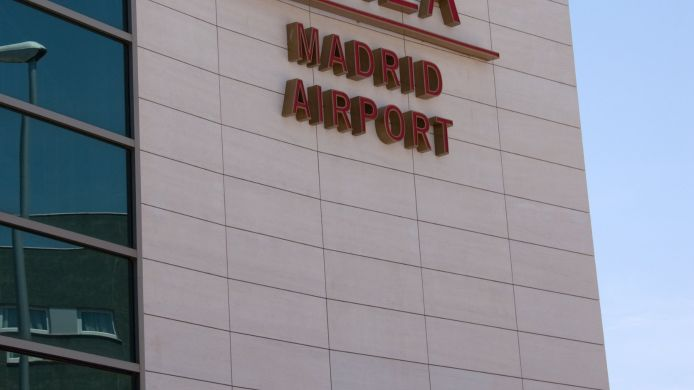 Buitenaanzicht Crowne Plaza MADRID AIRPORT