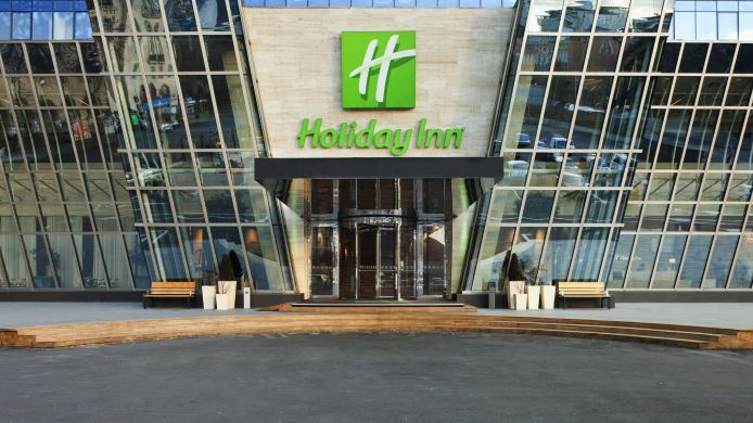 Exterior view Holiday Inn TBILISI