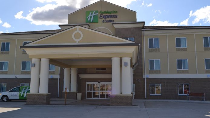 Exterior view Holiday Inn Express & Suites NORTHWOOD