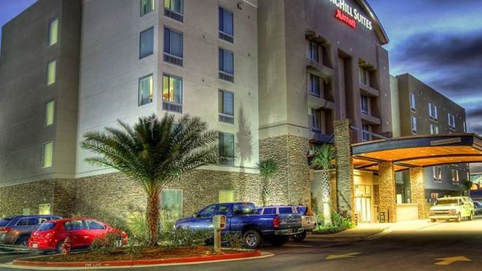 Buitenaanzicht SpringHill Suites Lake Charles