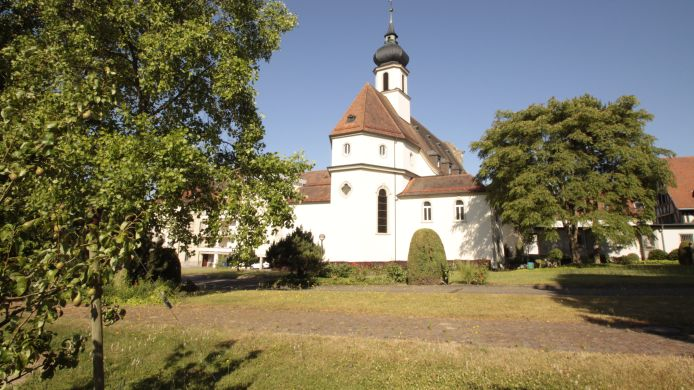 Exterior view Kloster Maria Hilf