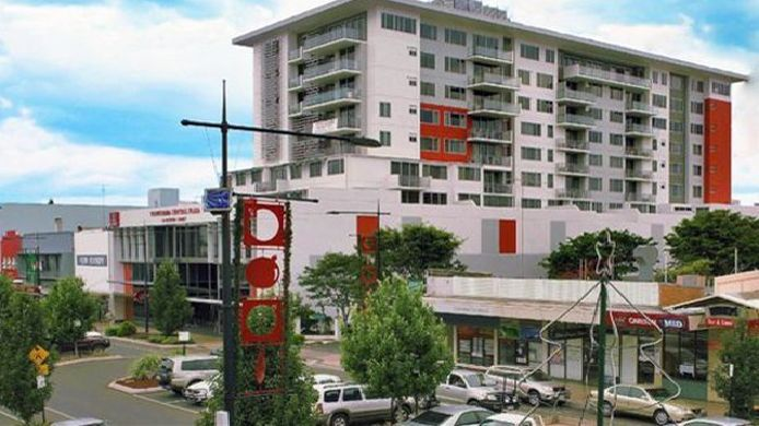 Exterior view TOOWOOMBA CENTRAL PLAZA APARTMENT HOTEL