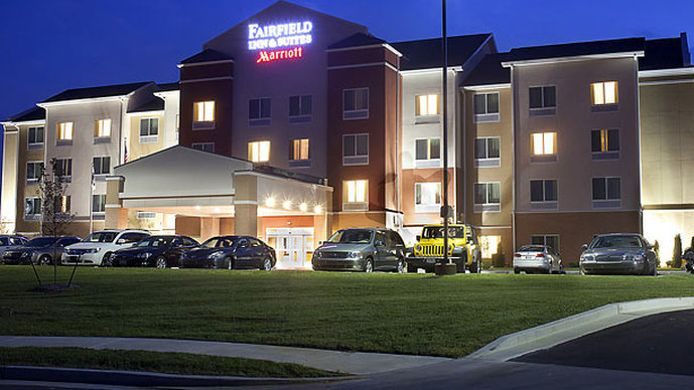Buitenaanzicht Fairfield Inn & Suites Paducah